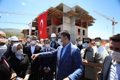 Bakan Kurum, Malatya'da Yapımı Süren Projeleri İnceledi