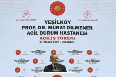 Cumhurbaşkanı Erdoğan Açıklaması 'Türkiye'nin İhtiyacı Kavga Değil Eser Siyasetidir'