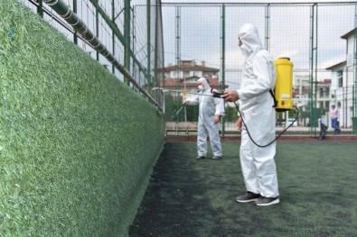 Erenler Belediye Tesisleri Dezenfekte Edildi