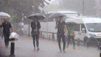 SAĞANAK YAĞIŞ - Meteoroloji'den İstanbul için hava durumu uyarısı!