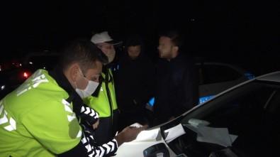 Stajyer Ehliyetle Polise Alkollü Yakalanan Gençten İlginç Tepki