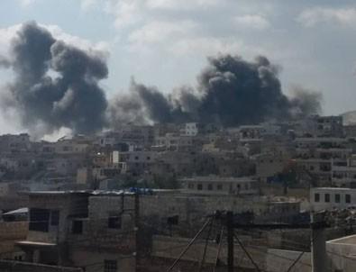 Halep'i vurdular!
