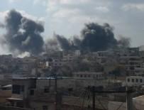 İSRAIL - Halep'i vurdular!