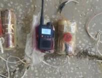 SURİYE - Teröristin çantasından patlayıcı çıktı!