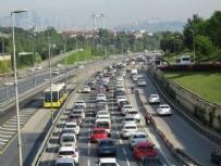EDİRNE - Bu sabah İstanbul! Endişe yaratan görüntü...