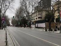 LASTİK TAMİRCİSİ - İki gün sokağa çıkma yasağı başladı!
