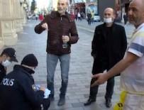 İSTİKLAL CADDESİ - Taksim'e gidenler dikkat! Polis 1000 TL ceza kesiyor