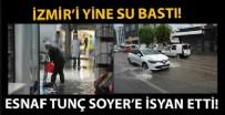 ALıŞVERIŞ - Yeni normalin ilk gününde İzmir'i yine su bastı!