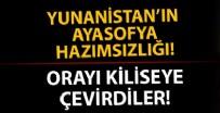 MARMARA ÜNIVERSITESI - 'Ayasofya' üzerinden Türkiye'ye saldıran Yunanistan Gazi Evrenos Bey İmaretini kiliseye çevirdi