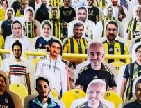 KAYSERISPOR - Fenerbahçe Kulübü, Ülker Stadı'na taraftar kartonetleri yerleştirdi