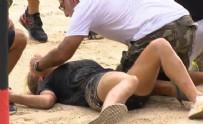 KÖTÜ HABER - Survivor Nisa 3 metreden düştü, Elif hastanelik oldu!