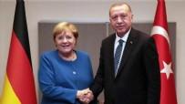 ALMANYA - Erdoğan ve Merkel arasında kritik görüşme!