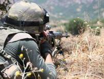 IRAK - MSB duyurdu: 4 terörist etkisiz!