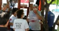 ARBEDE - Maske uyarısı yapan cami güvenlik görevlisi bıçaklandı