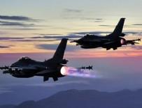 IRAK - Terör kamplarına bomba yağdı!