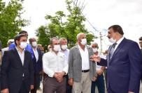 Başkan Gürkan'a Şahnahan'da Çalışmaları İnceledi
