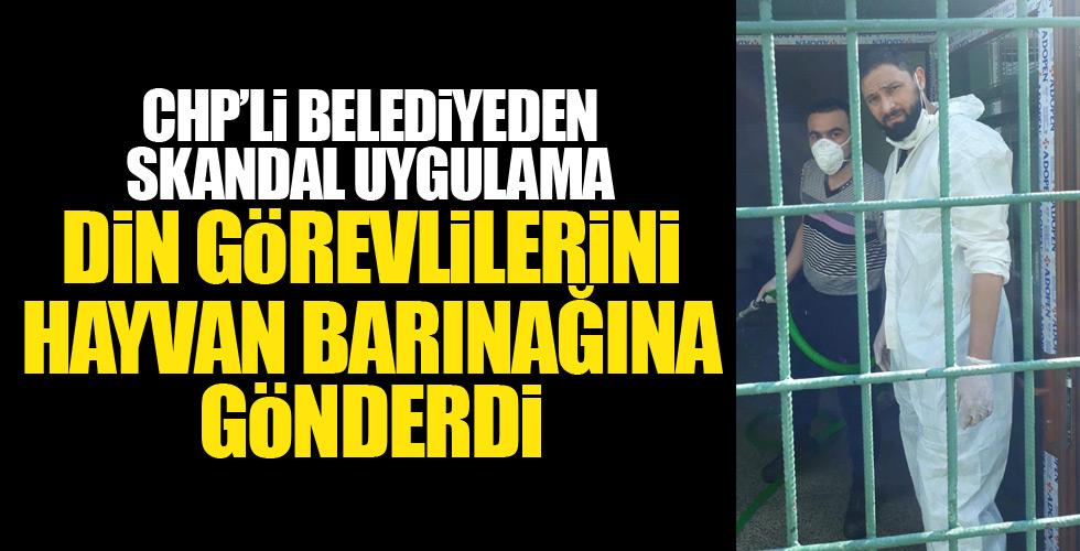 CHP'li belediyeden din görevlilerine sürgün!