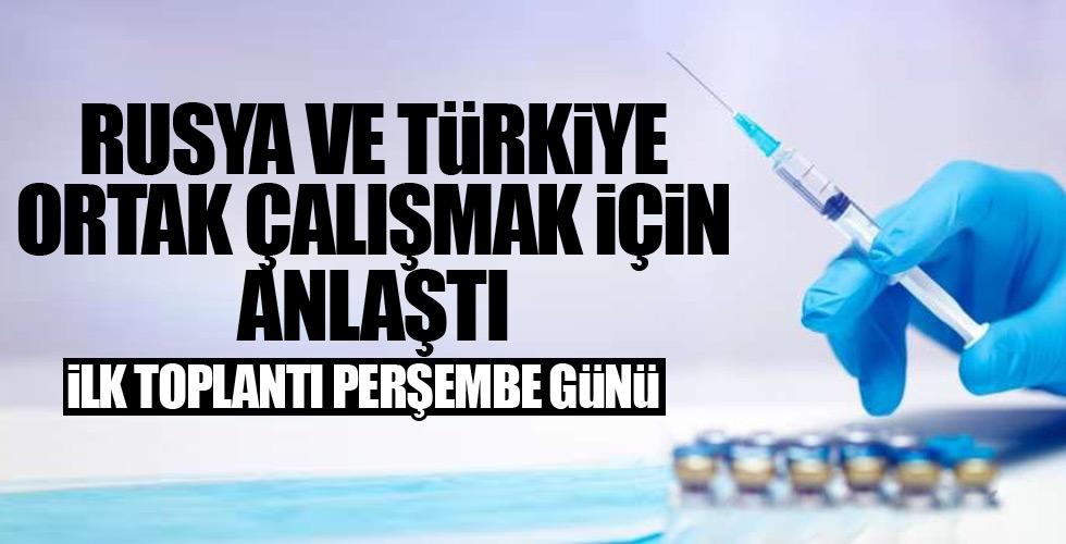Türkiye ve Rusya ortak çalışacak!