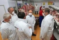 Vali Varol'dan Suluova'daki Fabrikalarda İnceleme