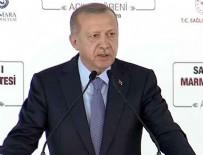 SAĞLIK PERSONELİ - Cumhurbaşkanı Erdoğan: Bu sürecin altından başarıyla kalktık