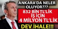 ANKARA BÜYÜKŞEHİR BELEDİYESİ - 832 bin TL'lik budama ve kesim işi için 4 milyon TL'lik ihale! Ankara'da neler oluyor?