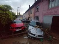 KADER - Bursa'da sel felaketi! Bir kişi hayatını kaybetti