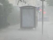 DOLU YAĞIŞI - Meteoroloji'den İstanbul için sarı uyarı