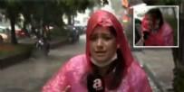 DOLU YAĞIŞI - Dün kanlar içinde kalan A Haber muhabiri son halini paylaştı