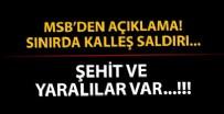 İRAN - MSB'den son dakika açıklaması! Sınırda kalleş saldırı
