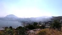 YALıKAVAK - Ünlü tatil beldesi duman altında kaldı