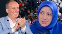 MUHARREM İNCE - AK Parti Grup Başkanvekili Özlem Zengin'den Muharrem İnce'ye sert tepki