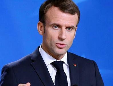 İngiliz basını Macron'u yerden yere vurdu!