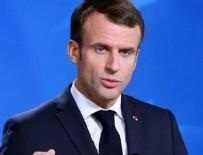 TERÖRLE MÜCADELE - İngiliz basını Macron'u yerden yere vurdu!