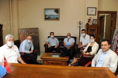 ADÜ İletişim Fakültesi'nden İl Kültür Ve Turizm Müdürü Tuncer'e Ziyaret