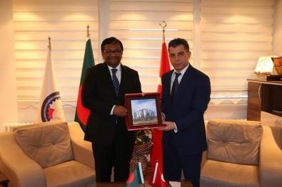 Bangladeş Büyükelçisi Sıddiki'den SANKON'a Ziyaret