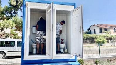 Didim'deki Duş Ve Soyunma Kabinleri Tahrip Edildi