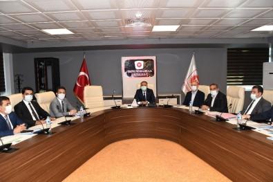 KÖYDES Değerlendirme Toplantısı Vali Mahmut Çuhadar Başkanlığında Yapıldı