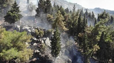 Manisa Spil Dağı'nda Çıkan Yangın Kontrol Altına Alındı