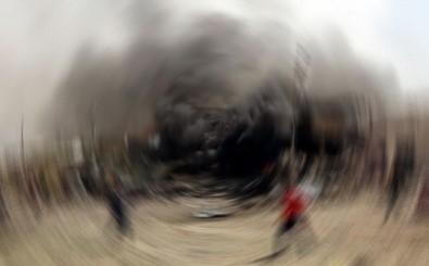 Tahran'da Sağlık Kliniğinde Patlama