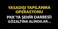 TERÖRLE MÜCADELE - Terör örgütü PKK'nın gençlik ve şehir yapılanmasına operasyon: 9 gözaltı