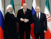 ÜÇLÜ ZİRVE - Türkiye-Rusya-İran Üçlü Zirvesi'nde detaylar belli oldu