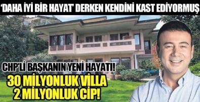 CHP'li başkan Rıza Akpolat'tan 'lüks' dönüşüm