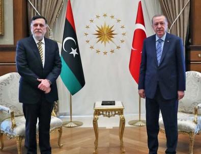 Cumhurbaşkanı Erdoğan ve Serrac'dan Doğu Akdeniz mesajı