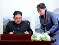 PROPAGANDA - Kim Jong Un'un kız kardeşi Güney Kore'ye tehditler savurdu!