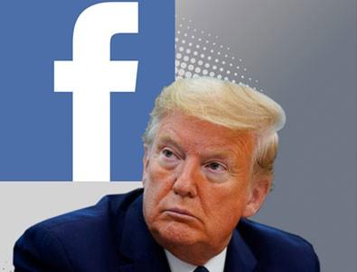 Trump'a bir darbe de Facebook'tan!