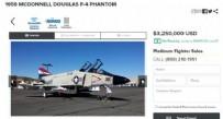 DENİZ KUVVETLERİ - Sahibinden satılık savaş uçakları!