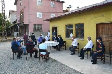 Vali Gürel'den Köy Ziyareti