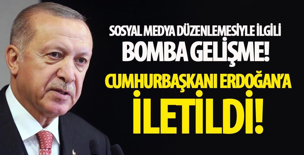 AK Parti'den kritik hamle... Erdoğan'a iletildi