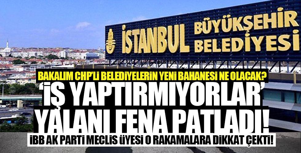 CHP'li Belediyelere iş yaptırmıyorlar bahanesi çöktü!
