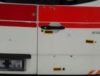 SAĞLIK PERSONELİ - Diyarbakır'da ambulansa alçak saldırı! Doğum ihbarına gitti kurşun yağdırdılar